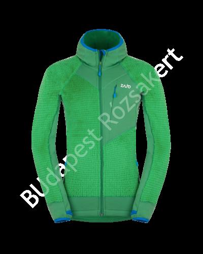 Zajo Meribel Jkt férfi polár pulóver, zöld