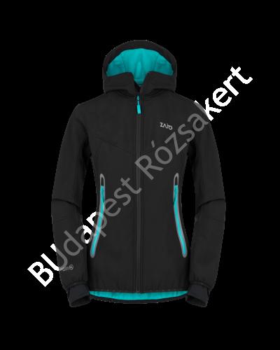 Zajo Sphere Neo Jkt női softshell kabát, fekete