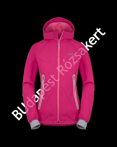 Zajo Sphere Neo Jkt női softshell kabát, Bright Rose