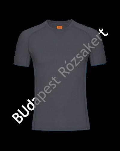 Zajo Bjorn Merino Tshirt SS férfi merinói gyapjú aláöltözet felső, szürke