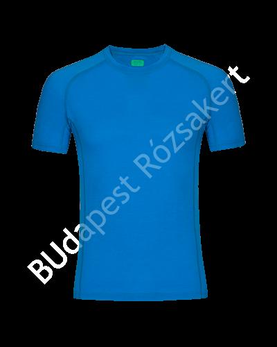 Zajo Bjorn Merino Tshirt SS férfi merinói gyapjú aláöltözet felső, blue jewel