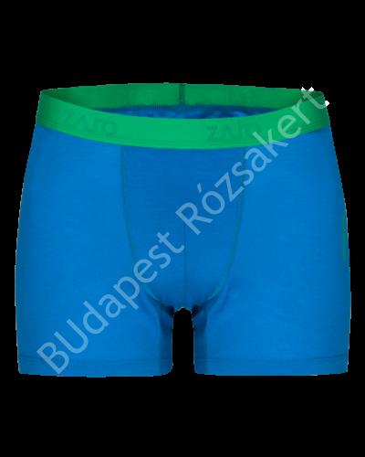 Zajo Bjorn Merino Shorts férfi merinói gyapjú alsónadrág, blue jewel
