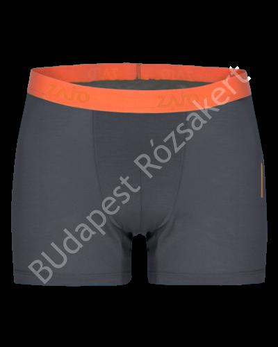 Zajo Bjorn Merino Shorts férfi merinói gyapjú alsónadrág, szürke