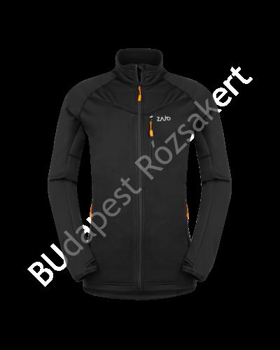 Zajo Arlberg Jkt férfi polár kabát, fekete