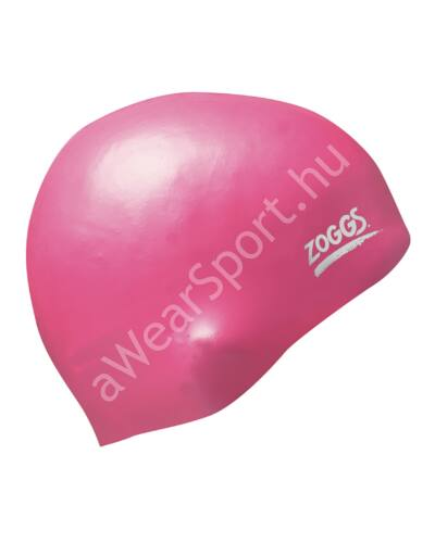 Zoggs silicone felnőtt úszósapka, rózsaszín