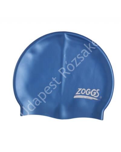 Zoggs silicone felnőtt úszósapka, kék