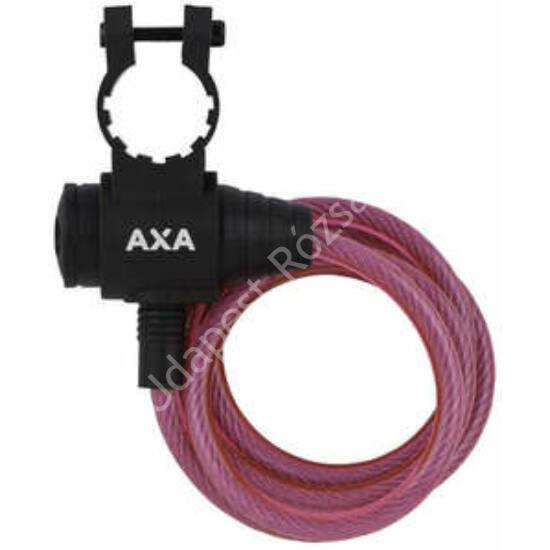 AXA ZIPP spirál kerékpárzár 8X1200 pink