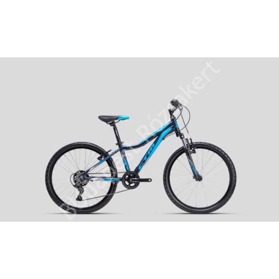 "CTM Rocky 2.0 24"" ALU kerékpár,  petrolkék 11.6 kg"