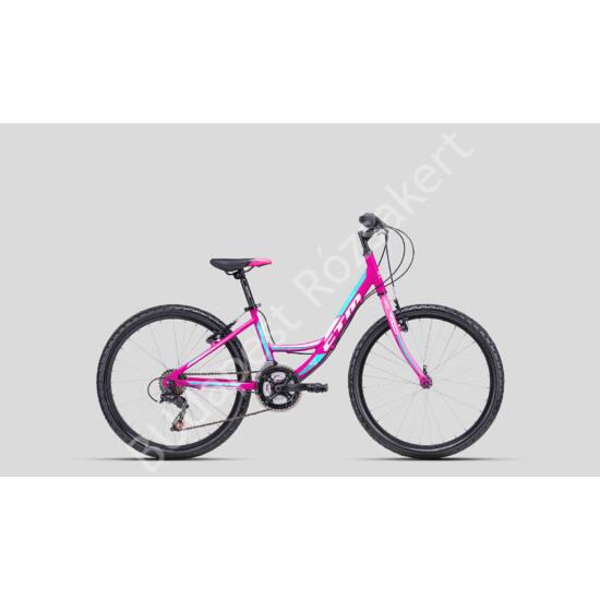 "CTM 24"" Missy ALU kerékpár, pink"