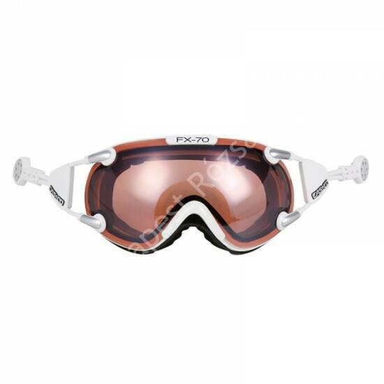 Casco FX-70 Vautron white fényresötétedő síszemüveg, M