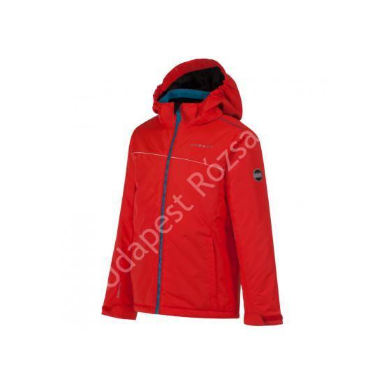Dare2b Retort Jacket gyermek síkabát 5000mm, fiery red, 104