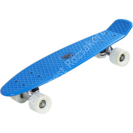 Playlife Vinyl Board gördeszka, kék-fehér