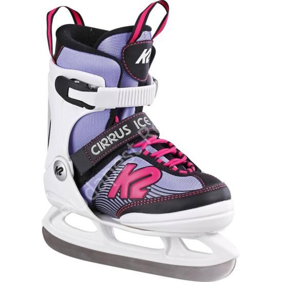 K2 Cirrus Ice white-purple-pink állítható jégkorcsolya