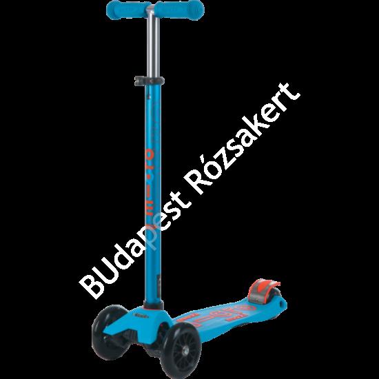 Maxi Micro Deluxe roller, karibkék-narancs