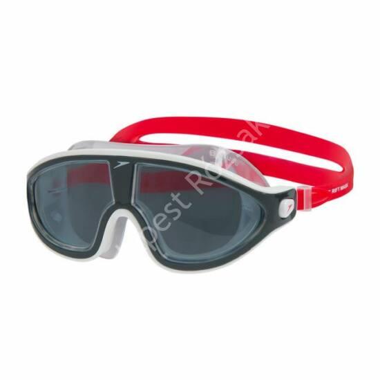 Speedo Biofuse Rift Mask úszómaszk, szürke-piros