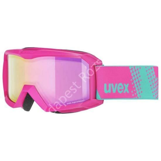 Uvex Flizz FM pink síszemüveg
