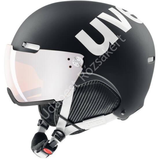 Uvex Hlmt 500 Visor black-white mat sísisak, 55-59 cm
