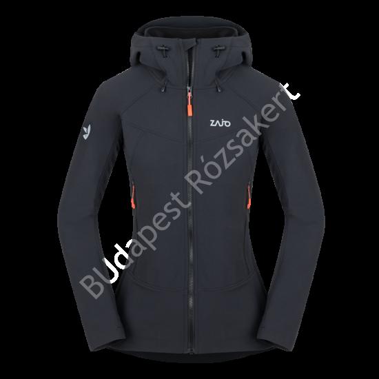 Zajo Air LT Hoody W Jkt  női softshell kabát, fekete, XL
