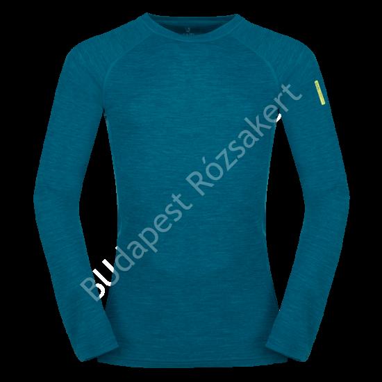 Zajo Bergen Merino T-Shirt LS férfi merinói gyapjú aláöltözet felső, deep lagoon, 2XL