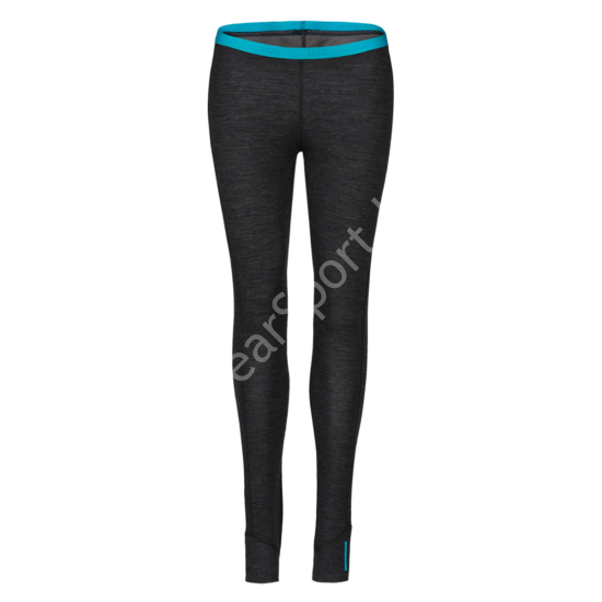Zajo Nora Merino W Pants női gyapjú aláöltözet nadrág, fekete, XL