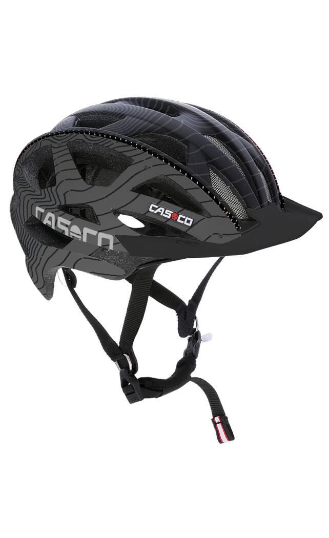 Casco CudaMountain kerékpáros bukósisak, black anthrazite, 58-62 cm