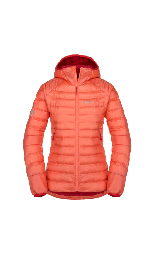 Zajo Livigno W Jkt pehely/Primaloft női kabát, rose orange