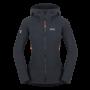 Kép 1/10 - Zajo Air LT Hoody W Jkt  női softshell kabát, fekete, XL