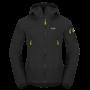 Kép 1/13 - Zajo Air LT Hoody Jkt férfi softshell kabát, black, 3XL