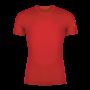 Kép 1/4 - Zajo Bjorn Merino Tshirt SS férfi merinói gyapjú aláöltözet felső, piros, M