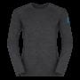 Kép 1/4 - Zajo Bjorn Merino Tshirt LS férfi merinói gyapjú aláöltözet felső, fekete, 3XL