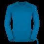 Kép 1/4 - Zajo Bjorn Merino Tshirt LS férfi merinói gyapjú aláöltözet felső, greek blue, XL